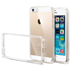 Transparent Silikon TPU-Skal iPhone 5/5S/SE(1a generationen) Transparent