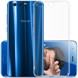 Transparent Silikon TPU-Skal till Huawei Honor 9 Transparent