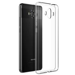 Transparent Silikon TPU-Skal till Huawei Mate 10 PRO Transparent