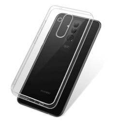 Transparent Silikon TPU-Skal till Huawei Mate 20 Lite Transparent