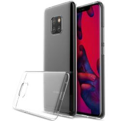 Transparent Silikon TPU-Skal till Huawei Mate 20 PRO Transparent