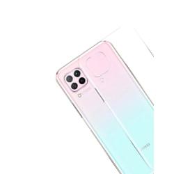 Transparent Silikon TPU-Skal till Huawei P40 Lite Transparent