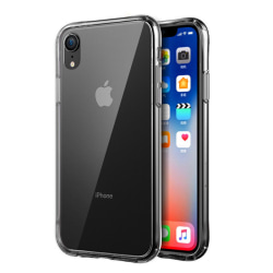 Transparent Silikon TPU-Skal till iPhone XR Transparent