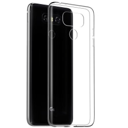 Transparent Silikon TPU-Skal till LG G6 Transparent