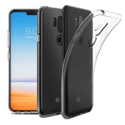 Transparent Silikon TPU-Skal till LG G7 ThinQ Transparent