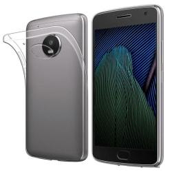 Transparent Silikon TPU-Skal till Moto G5 PLUS Transparent