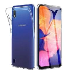 Transparent Silikon TPU-Skal till Samsung A10 Transparent