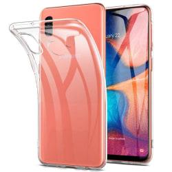 Transparent Silikon TPU-Skal till Samsung A20e Transparent