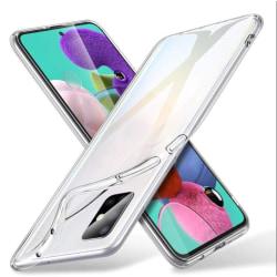 Transparent Silikon TPU-Skal till Samsung A71 Transparent