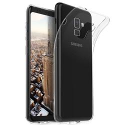 Transparent Silikon TPU-Skal till Samsung A8 2018 Transparent