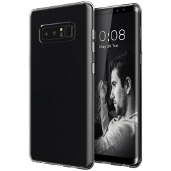 Transparent Silikon TPU-Skal till Samsung Note 8 Transparent