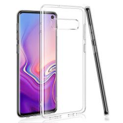 Transparent Silikon TPU-Skal till Samsung S10 PLUS Transparent