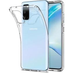 Transparent Silikon TPU-Skal till Samsung S20 Transparent