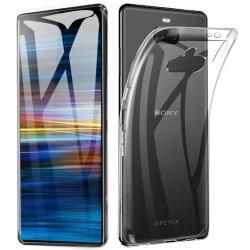 Transparent Silikon TPU-Skal till Sony Xperia 10 Plus Transparent