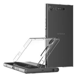 Transparent Silikon TPU-Skal till Sony Xperia XZ1