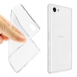 Transparent Silikon TPU-Skal till Sony Z5 Compact Transparent