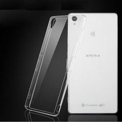 Transparent Silikon TPU-Skal till Sony Z5 Transparent