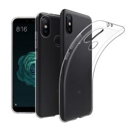 Transparent Silikon TPU-Skal till Xiaomi Mi A2 Transparent
