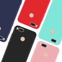 Xiaomi Mi A1 Ultratunn Silikonskal - fler färger Rosa