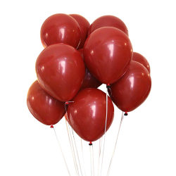 100-pack Röda Ballonger 26cm Latex Fest Födelsedag röd