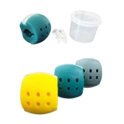 3-pack Käktränare Jawline - Träning för Definierade Käkmuskler flerfärgad