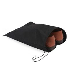 3-pack Skoförvaringspåse för Resa Skopåse Förvaring för skor svart