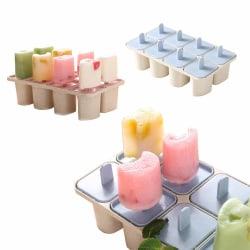 8-pack Glassform - Gör Egna Glasspinnar Hemma - Nyttig Glass blå