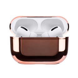 Apple AirPods Pro Case Fodral Stötsäkert Skyddsfodral Roséguld guld