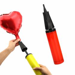 Ballongpump för Smidig Uppblåsning av Ballonger Folieballonger flerfärgad