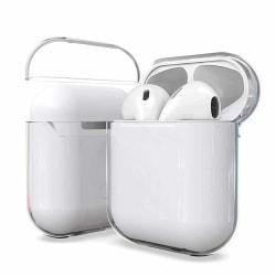 Genomskinligt Apple AirPods 1/2 Fodral Stötsäkert Skyddsfodral transparent