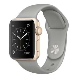 Grå Apple Watch 1/2/3/4/5/6/SE Klockarmband Silikon 38/40 grå 38/40