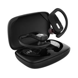 Helt Trådlösa TWS Bluetooth In-Ear Hörlurar med Laddfodral svart