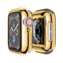 Heltäckande Apple Watch 4/5/6/SE Skal Skärmskydd Guld 44mm guld 44