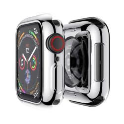 Heltäckande Apple Watch 4/5/6/SE Skal Skärmskydd Silver 44mm silver 44