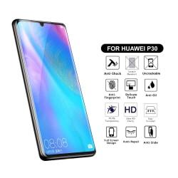 Heltäckande Huawei P30 Skärmskydd Nanoedge Skyddsplast transparent