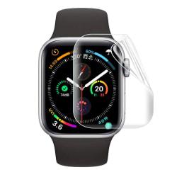 Heltäckande Skärmskydd Apple Watch 1/2/3 Displayskydd 38mm transparent