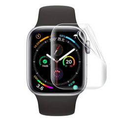 Heltäckande Skärmskydd Apple Watch 1/2/3 Displayskydd 40mm transparent