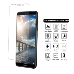 Huawei Mate 10 Pro Skärmskydd Skyddsplast Heltäckande transparent