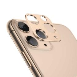 iPhone 11 Pro/Pro Max Linsskydd Skydd för Kameralins Guld guld
