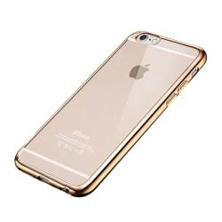 iPhone 7/8 Genomskinligt Plus Fodral Guld TPU Bumper guld