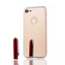 iPhone 7 8 Plus Spegel Skal Fodral TPU Bumper silver