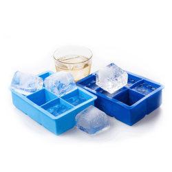 Isform för Stora Iskuber Isbitar Silikon blå