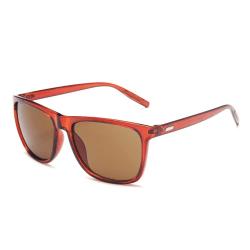 Moderna Röda Solglasögon + Senilsnöre röd