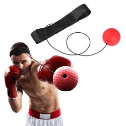 Pannbandsboxning - Rolig Konditionsträning - Pannbands Boxning röd