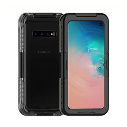 Samsung Galaxy S10 Plus Vattentätt Fodral Skal Undervattenshus svart
