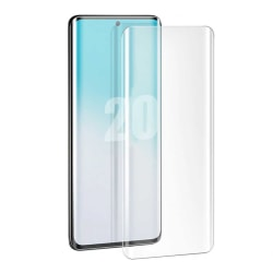 Samsung Galaxy S20 Skärmskydd Skyddsplast Displayskydd transparent