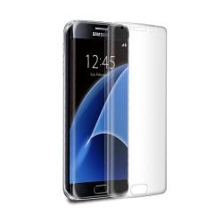 Samsung Galaxy S7 Edge Skärmskydd Skyddsplast Heltäckande transparent