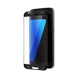Samsung Galaxy S7 Skärmskydd Kolfiber Härdat Glas (Svart) svart