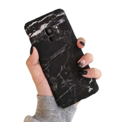 Samsung Galaxy S9 Mobilskal Svart Marmor Black Marble svart