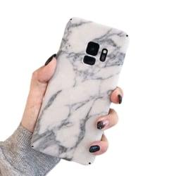 Samsung Galaxy S9 Mobilskal Vit Marmor White Marble vit